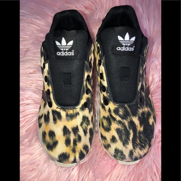 adidas Other - ☄️Adidas ZX Flux Torsion leopard print ☄️